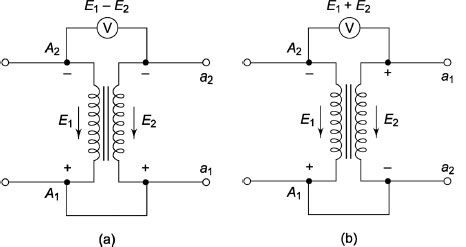 Polarity Test Of A Single-Phase Transformer | Electrical