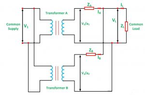 Parallel Operation Of Single-Phase Transformer